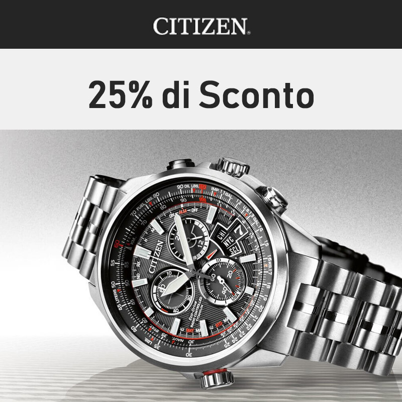 Citizen Offerta 25%